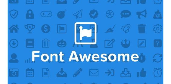 Font Awesome 5.2.0 Atualizada