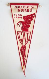 Flamula Antiga Clube Atletico Indiano - São Paulo - Sp 1964
