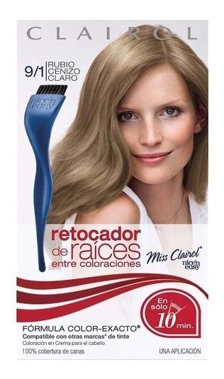 Retocador Canas De Raíz Miss Clairol Rubio Cenizo Claro 9/1