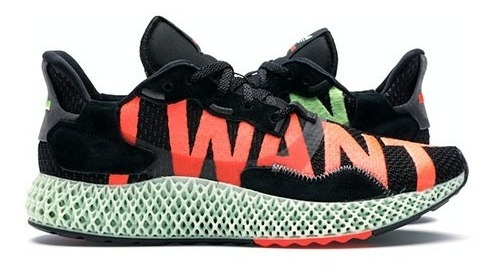 adidas Zx 4000 4d I Want I Can Black