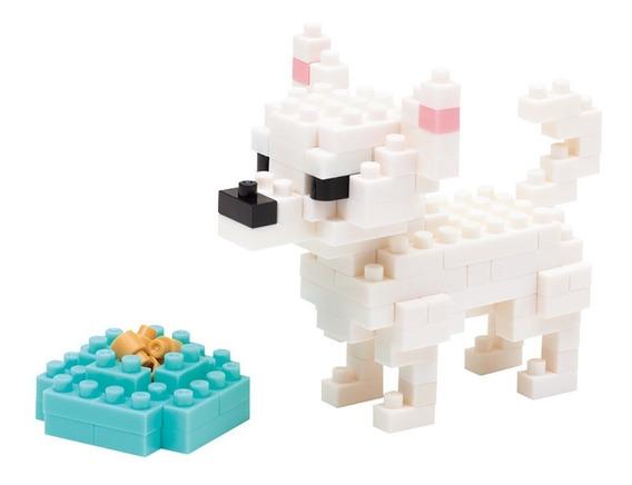 Nanoblock Perro Chihuahua Rompecabezas 3d Tienda Oficial