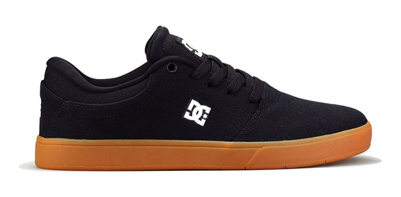 Tênis Dc Shoes Original Crisis Tx La Black/gum