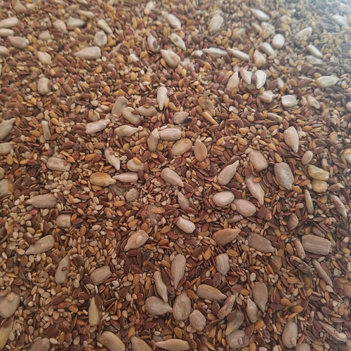 Mix De Semillas (lino, Chia, Girasol,sesamo )  X 1kg