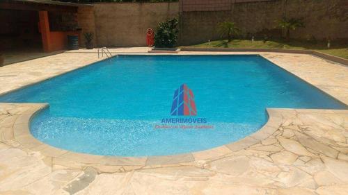 Apartamento Com 2 Dormitórios À Venda, 54 M² Por R$ 250.000 - Ed. Res. Tatiana - Vila Dainese - Americana/sp - Ap1014