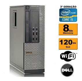 Cpu Dell Mini Optiplex 7010 Sff I5 3ª Geração 8gb Ssd 120 Rw
