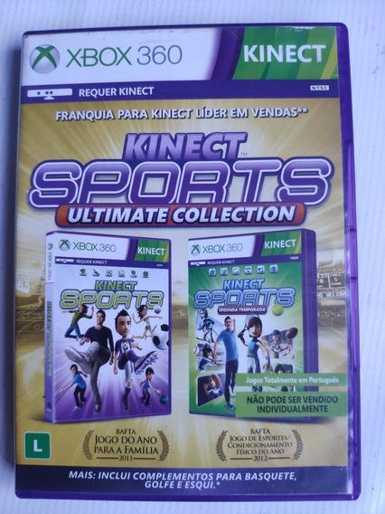 Kinect Sports Xbox 360 Original 2x1 Em Português Envio Rápid