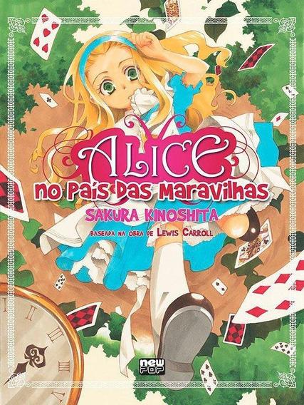 Alice No País Das Maravilhas - Em Mangá