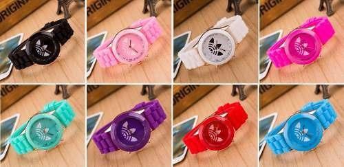 Relógio adidas Feminino Diversas Cores Vermelho Colorido