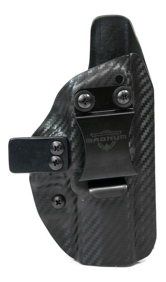Coldre Interno Velado Kydex Cbk Glock G19 / G25 - Destro
