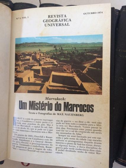 Coleção Revista Geografica Universal - Do 1 Ao 61 - Raro!!!