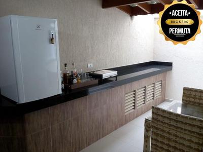 Apartamento Garden Com 2 Dormitórios À Venda, 78 M² Por R$ 450.000 - Nova Gerti - São Caetano Do Sul/sp - Gd0040