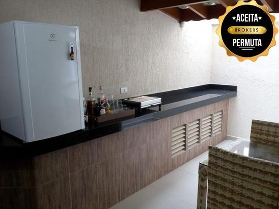 Apartamento Garden À Venda, 78 M² Por R$ 450.000,00 - Nova Gerti - São Caetano Do Sul/sp - Gd0040