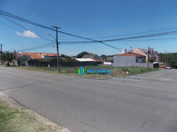 Terreno Para Alugar, 1064 M² Por R$ 2.000,00/mês - Santa Felicidade - Curitiba/pr - Te0241