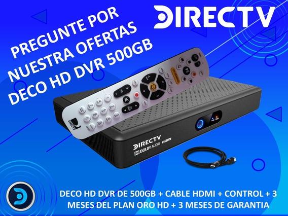 Decodificador Directv Hd Dvr 500gb Tienda Fisica