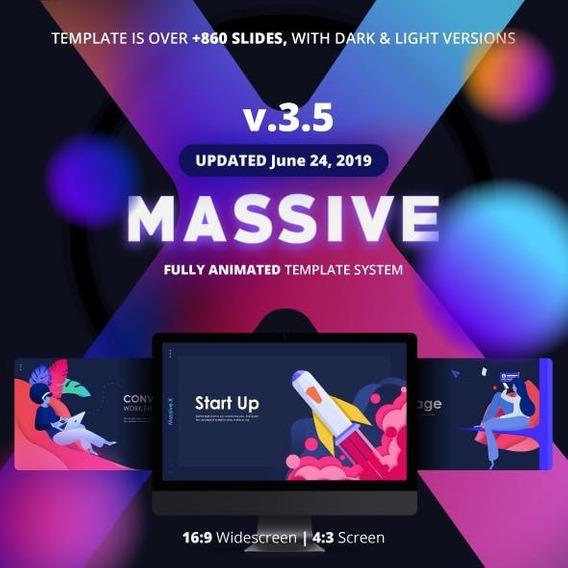 Template Powerpoint Exclusiva 860 Slides Powerpoint 2019