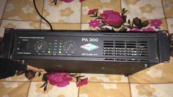 Amplificador De Potencia Mea Audio Pa 300