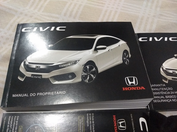 Manual Proprietario Honda Civic 2017