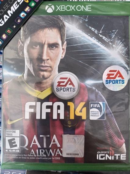 Fifa 14 Xbox One Mídia Física Novo Lacrado