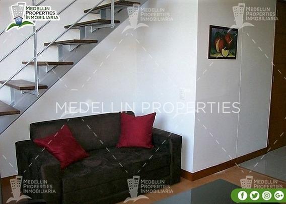 Apartamentos En Arriendo Amoblados En Medellin Cód: 4194