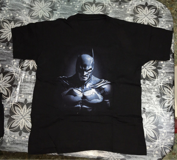 Remera Batman Talle L Color Negro