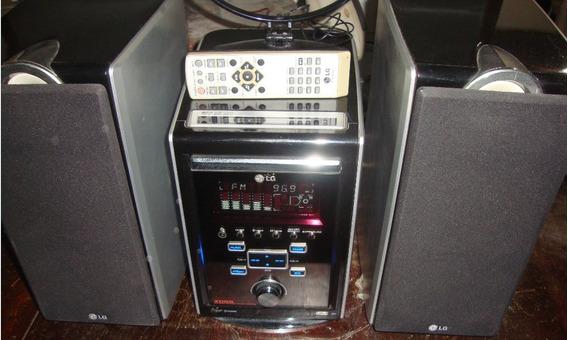 System Hi Fi Lg, Modelo Lf-u850 Completo E Funcionando Tudo
