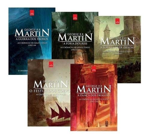 Game Of Thrones - 5 Livros + Brinde (o Cavaleiro Dos Sete R)
