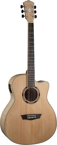 Guitarra Washburn Electroacustica Ag-40ce Maple Envio Cuotas