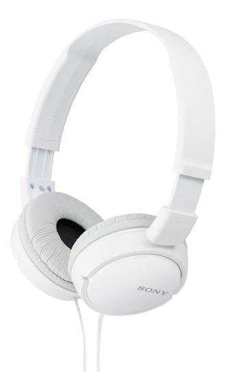 Fone De Ouvido Supra Auricular Sony Zx110 Branco