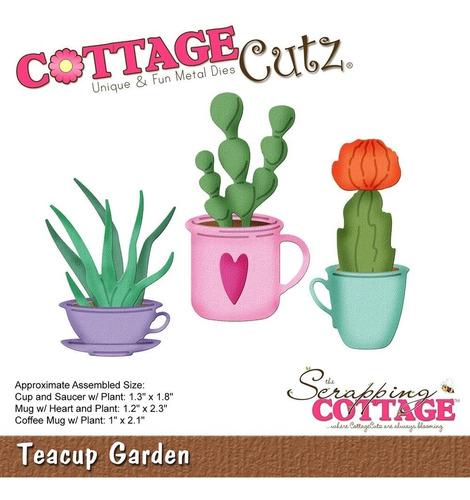 Cottage Cutz Dies Teacup Garden