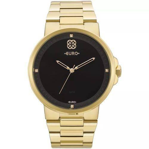 Relógio Feminino Euro Eu2035yld/4p Aço Dourado