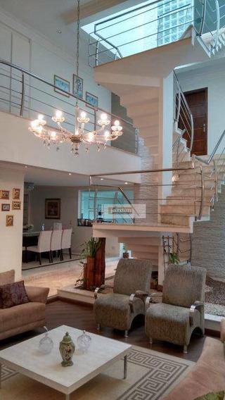 Sobrado Com 5 Dormitórios À Venda, 600 M² Por R$ 2.830.000,00 - Jardim Hollywood - São Bernardo Do Campo/sp - So1238
