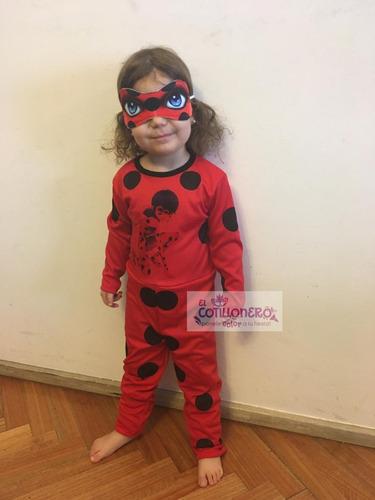Disfraz Economico Lady Bug Infantil X 1