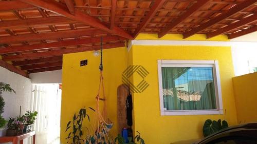 Casa Com 2 Dormitórios À Venda, 56 M² Por R$ 175.000,00 - Jardim Nogueira - Sorocaba/sp - Ca7321