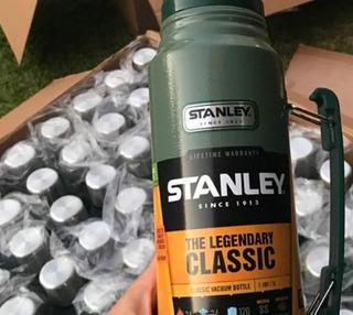 Termo Stanley De 1litro Verde- Original