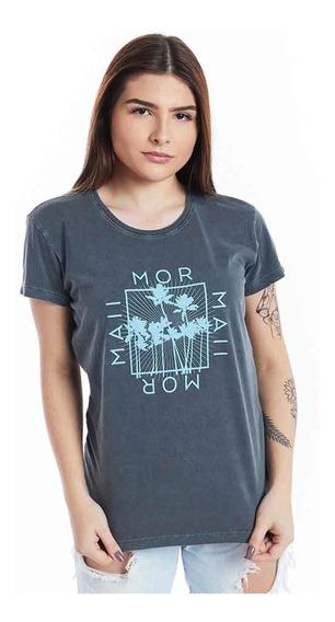 Camiseta Feminina Baby Look Aloha Mormaii