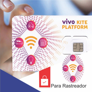 Chip Vivo M2m Para Rastreador Veicular+plataforma Online 24h