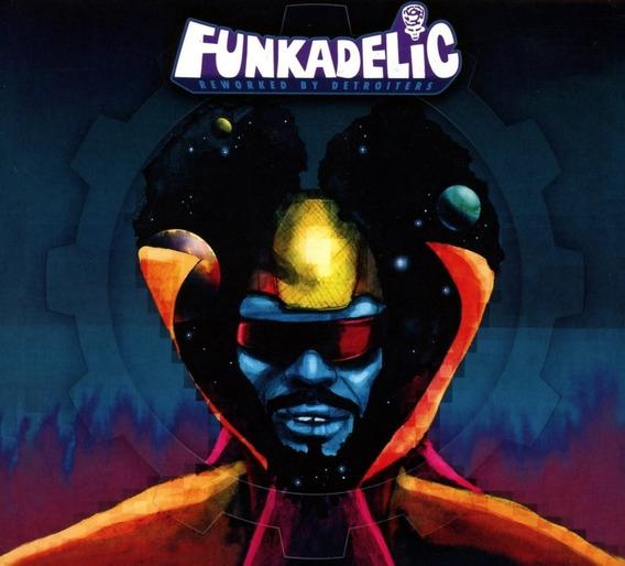 Funkadelic Reworked By Detroiters Vinilo Triple Nuevo Import
