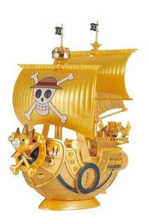 One Piece Thousand Sunny Film Gold Model Kit - Bandai