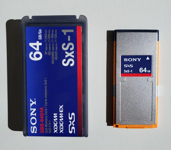 Cartão De Memória Sxs-1 G1a De 64gb Sony