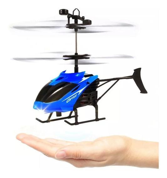 Brinquedo Drone Helicóptero Infantil Com Sensor De Mão