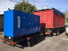 Trailers Grupos Electrógenos 2200kg Ipn 8 Centro F100 .