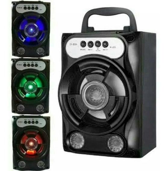Kit 10 Caixinha De Som Portable Speaker F8