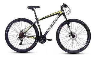 Bicicleta Mountain Top Mega Mustang R29 + Led + Inflador