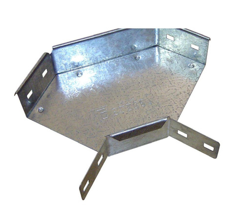 Curva Plana 90° Ala 50 300mm 0.9 Galvanizado Elece