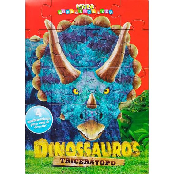 Livro Quebra-cabeça Tricerátopo - Ciranda