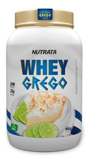 Whey Grego 900g Todos Os Sabores Nutrata - Promoção !!!!!!