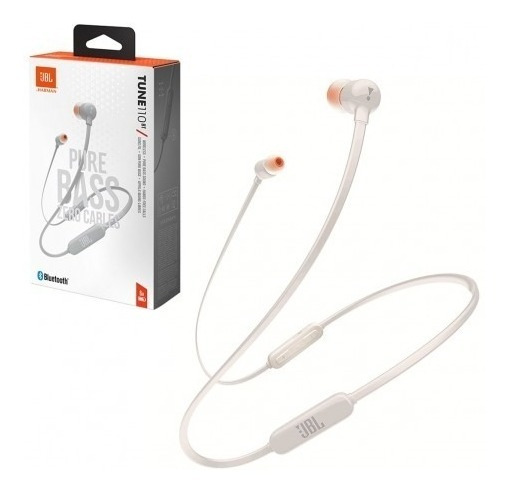 Fone De Ouvido Jbl Tune T110bt - Branco - Bluetooth + Nf