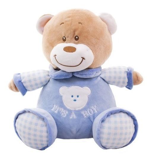 Urso Azul É Um Menino 26cm - Pelúcia