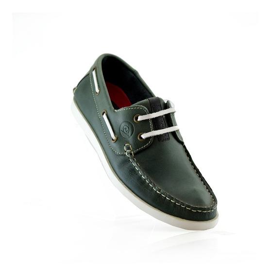 Mocasin Dunlop Cuero 2569-70 Elis Calzados