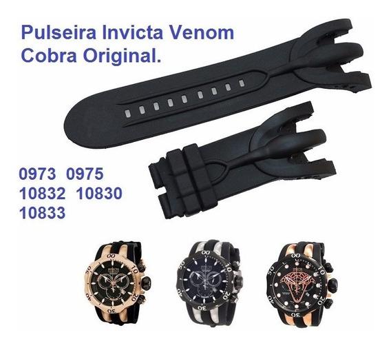 Pulseira Invicta Venom Reserve 0974 0975 10832 10834 Cobra